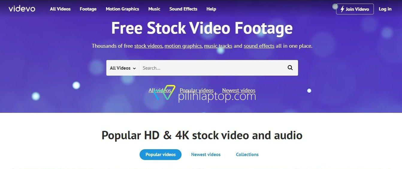 Download Template video gratis dari website ini !