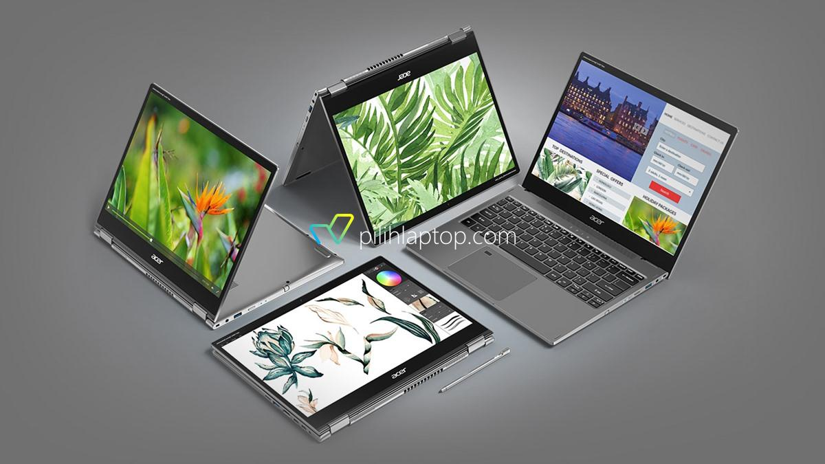 Acer Spin 5 Lite dan Spin 3 Active